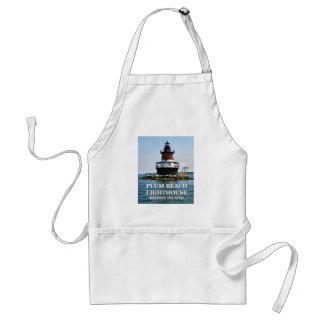Plum Beach Lighthouse, Rhode Island Apron