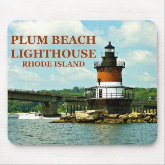 Plum Beach Lighthouse, Rhode Island Mousepad