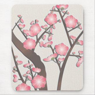 Plum blossom mouse mat