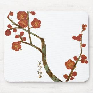 Plum Blossoms, Ogata Korin Japanese Fine Art Mouse Pad