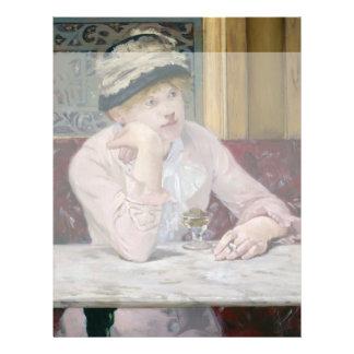 Plum Brandy by Edouard Manet 21.5 Cm X 28 Cm Flyer