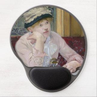 Plum Brandy by Edouard Manet Gel Mouse Pad
