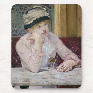 Plum Brandy by Edouard Manet Mouse Pad