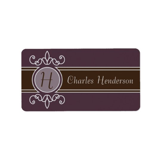 Plum Classic Harvest Property Labels