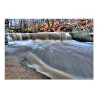 Plum Creek Falls, Olmstead Falls, Ohio Photo Print