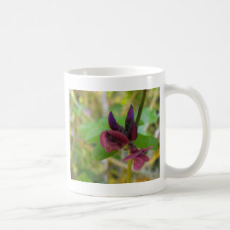 Plum Flora Coffee Mug