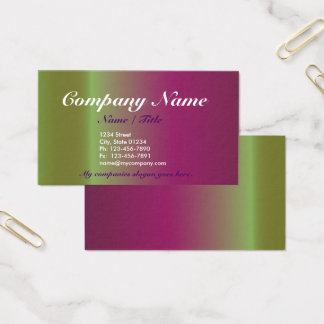 Plum Gradient 1 Sided Business Card Template v3