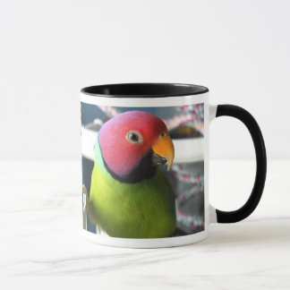 Plum Headed Parakeet Mug