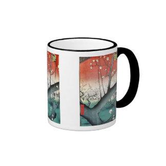Plum Japanese Art Mug
