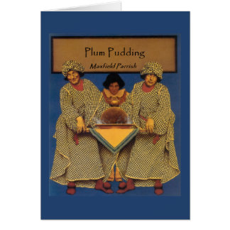 """""""Plum Pudding"""", by Maxfield Parrish Card"""