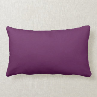 Plum Purple Solid Accent Pillow Throw Pillows