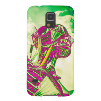 Plum Robot Cases For Galaxy S5