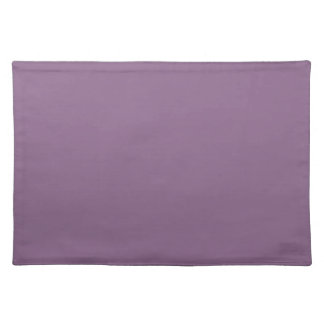 Plum Solid Color Placemat