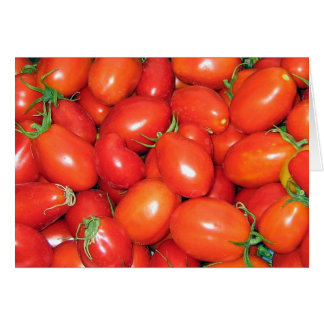 Plum Tomatoes Card