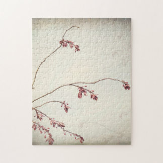 Plum Tree Branch with Spring Buds   Seabeck, WA Jigsaw Puzzle