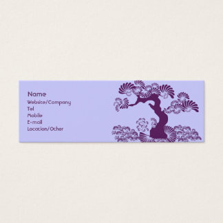 Plum Tree Mini Business Card