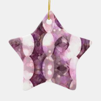 Plum Vertical Geometrics3500xs3500.jpg Ceramic Star Decoration