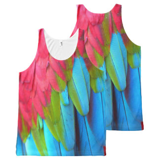 Plumage 1A All-Over Print Tank Top