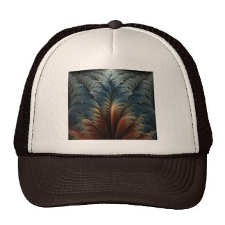 Plumage Abstract Art Cap