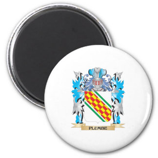 Plumbe Coat of Arms - Family Crest Magnet
