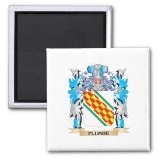 Plumbe Coat of Arms - Family Crest Fridge Magnets
