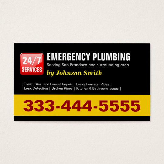 Plumber - 24 HOUR EMERGENCY PLUMBING SERVICES Business