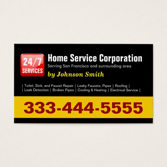 Plumber - 24 Hours Home Service Corporation Business
