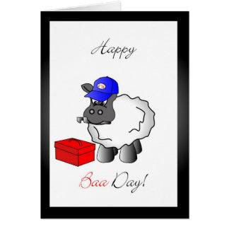 plumber birthday greeting card