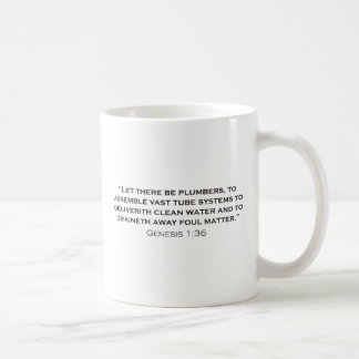 Plumber / Genesis Basic White Mug
