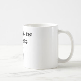 plumber in training coffee mug