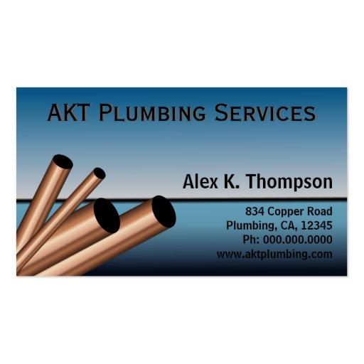 Plumber Plumbing Business Card Template Business Cards