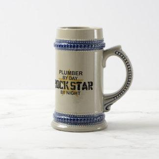 Plumber Rock Star by Night Beer Stein