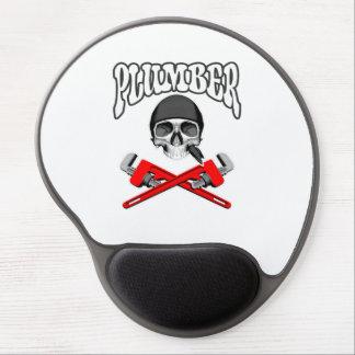 Plumber Skull Gel Mouse Mats