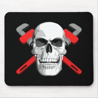 Plumber Skull Mouse Mat