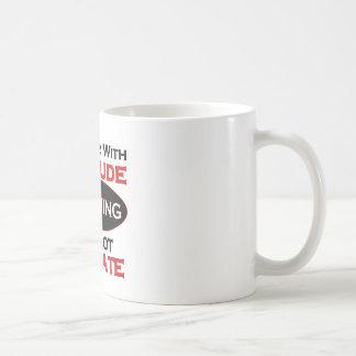 Plumber With Attitude Basic White Mug