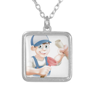 Plumber with qualification custom jewelry