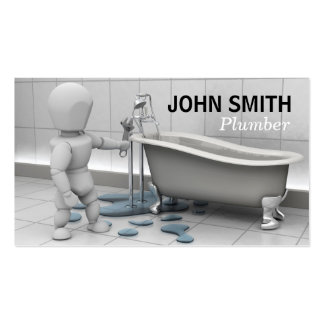 Plumbers Business Card