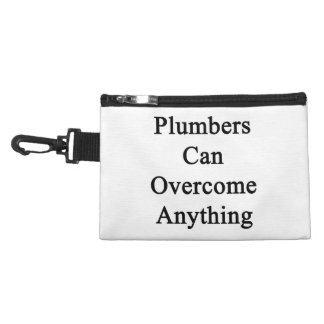 Plumbers Can Overcome Anything Accessory Bags