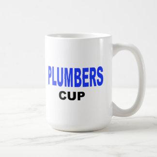 Plumbers Cup Basic White Mug