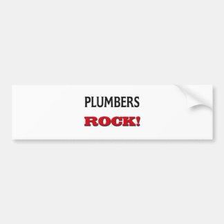 Plumbers Rock Bumper Sticker