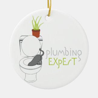 Plumbing Expert Christmas Ornament