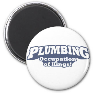Plumbing / Kings 6 Cm Round Magnet