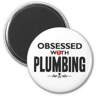 Plumbing Obsessed. Fridge Magnets