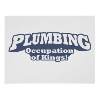 Plumbing – Occupation of Kings! Poster