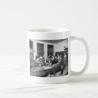Plumbing School early 1900s Mugs