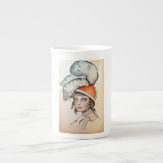 """Plume"" Original Watercolor Coffee Mug"
