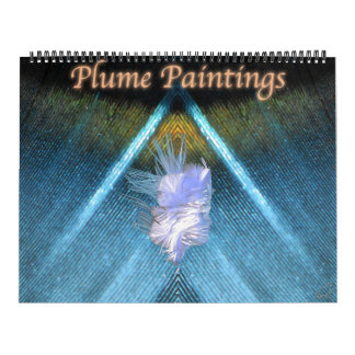 Plume Paintings Wall Calendar