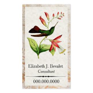 Plumeleteer Hummingbird Business Cards