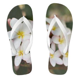 Plumeria Cluster Flip Flops