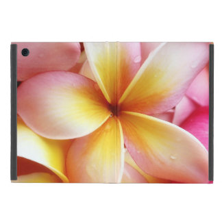 Plumeria Flowers Hawaiian Frangipani Floral Case For iPad Mini